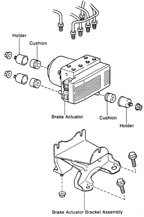 repair guides anti lock brake system actuator autozone com