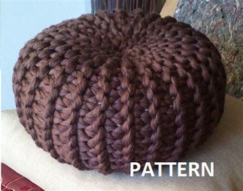 knitted ottoman pouf pattern 18 knit pouf patterns guide patterns
