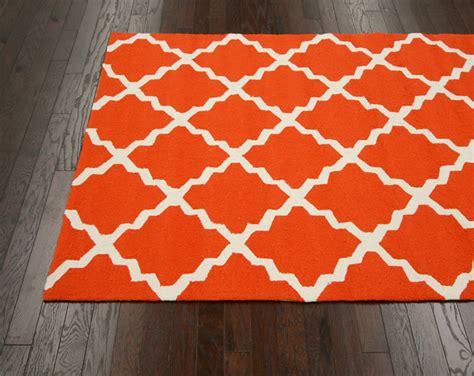 orange outdoor rugs fiona trellis indoor outdoor rug in orange