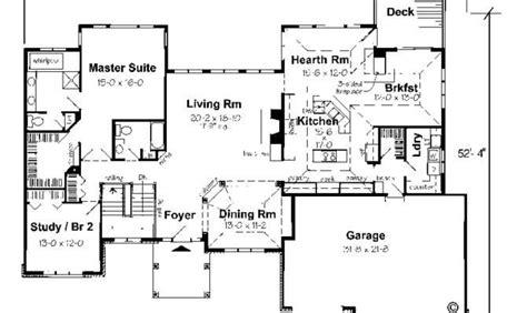 ranch floor plans with walkout basement luxury ranch style house plans with basement new home plans design
