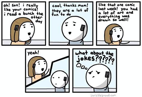 what are comics invisible bread some comics