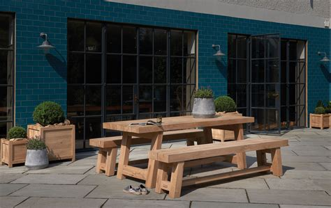 outdoor oak furniture outdoor oak dining furniture indigo furniture