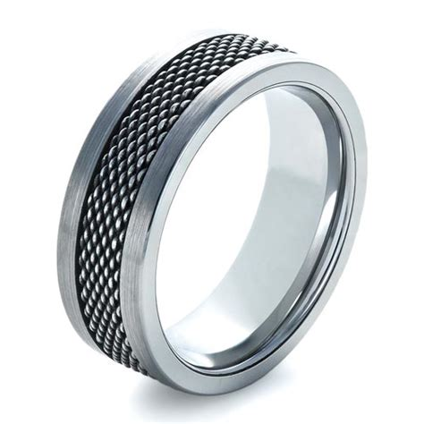 steel jewelry s tungsten and stainless steel ring 1335
