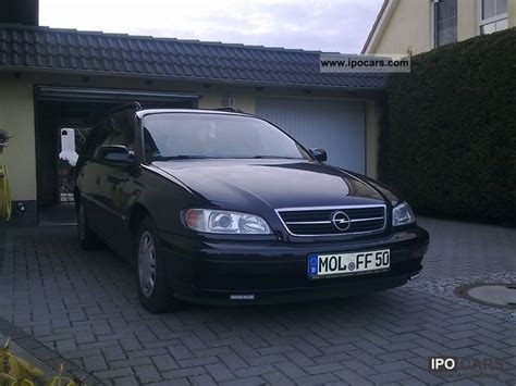 view of opel omega caravan 2 2 photos features