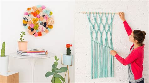the craft project 14 diy wall projects for who can t paint my cms