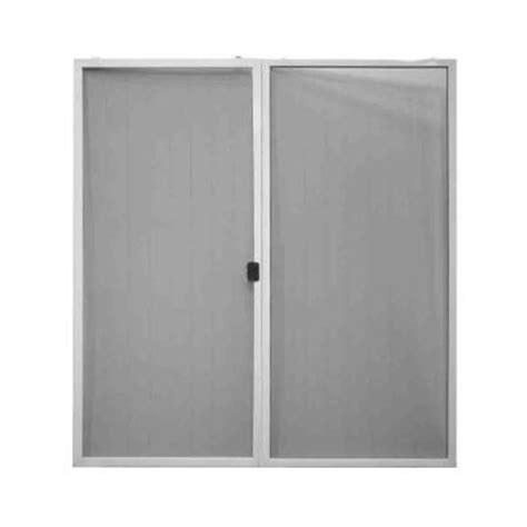 patio door screens home depot steves sons 60 in x 80 in screen door kit for