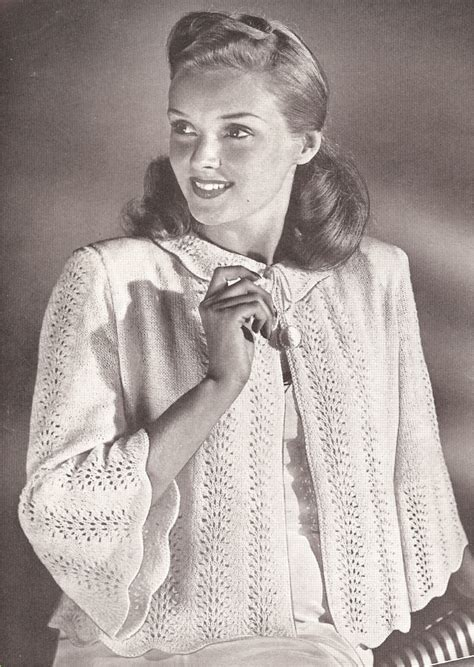 knitted bed jacket pattern free vintage knitting pattern to make bed jacket sweater knit