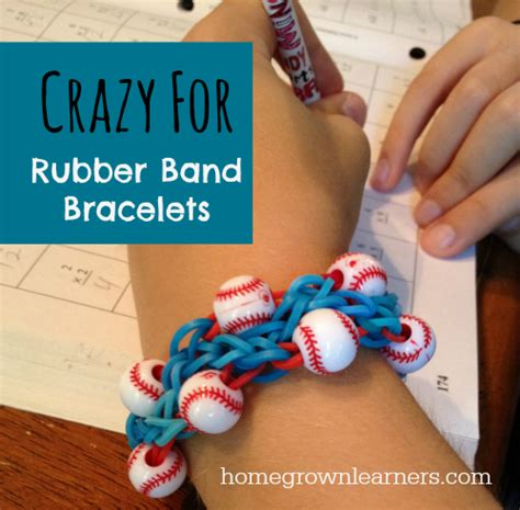 make rubber st at home rubber band bracelets home homegrown learners