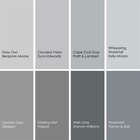paint colors of gray shades of gray paint colors gray the gray