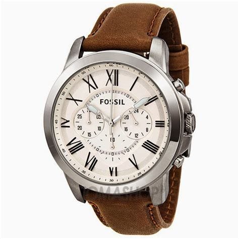 mens leather watches fossil watches for