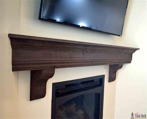 fireplace mantle shelf diy fireplace mantel shelf tool belt