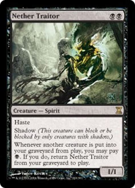 Mtg Best Modern Deck by Nether Traitor Time Spiral Gatherer Magic The Gathering