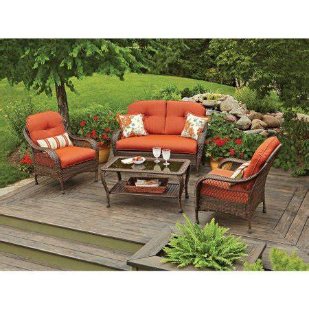 better home and gardens patio furniture better homes and gardens azalea ridge 4 patio