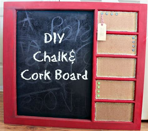 diy chalkboard cork board diy chalk cork board bushel a peck