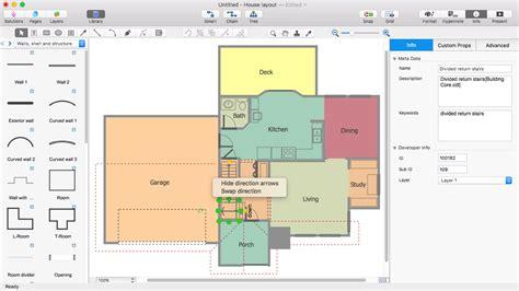 how to design a floor plan create a visio floor plan conceptdraw helpdesk