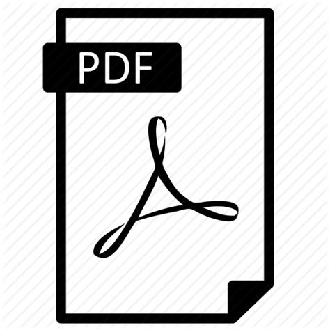 pdf with picture document extension file format line paper pdf icon