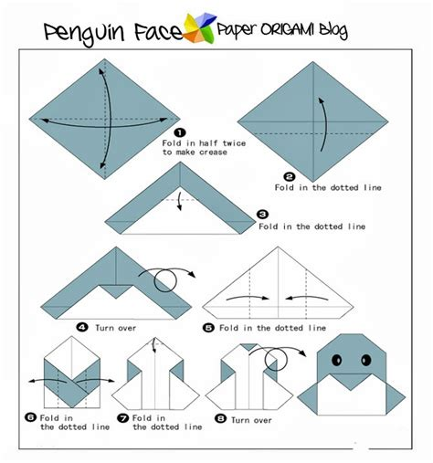 animal origami for animals origami penguin paper origami guide