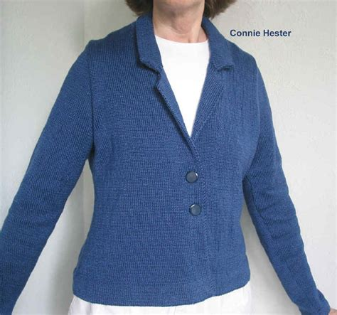 how to knit collar lapel collar knit jacket pattern with back pleat