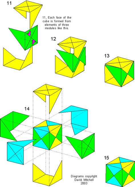 how to make a origami cube origami