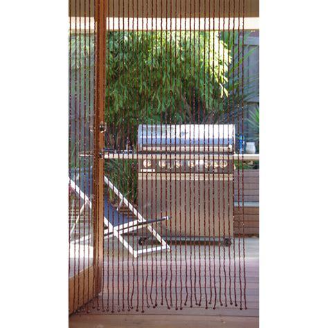 beaded fly screens for patio doors pillar products 90 x 200cm teak bali bead door curtain