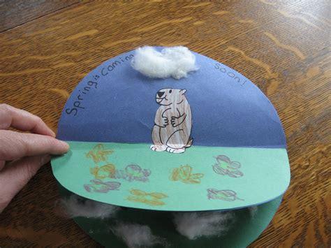 groundhog day crafts almost unschoolers groundhog day craft