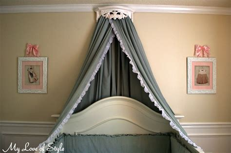 crib canopy bedding diy bed crown and crib canopy tutorial my of style