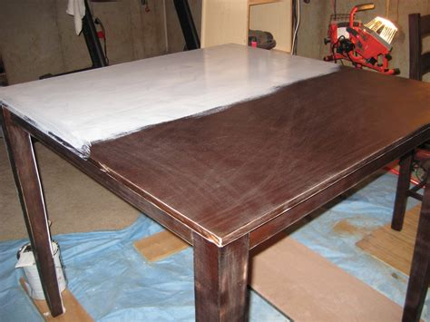refinishing a dining table furniture how to refinish a table design ideas with