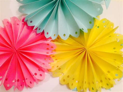 easy decoration diy decorated paper fan backdrop wedding