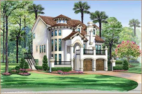 italian home plans italian house plan 3 bedrooms 3 bath 3596 sq ft plan 63 443