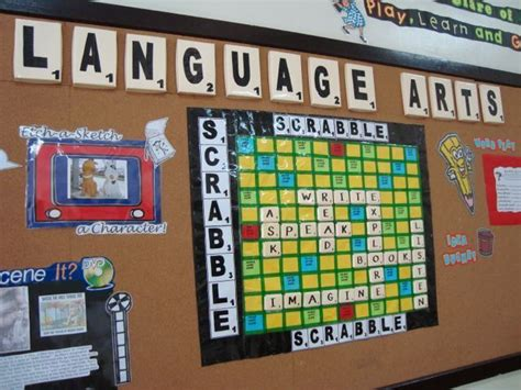 scrabble classroom theme 200 best images about murales on elementary