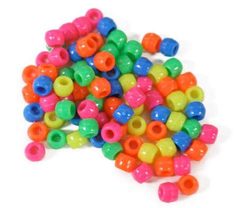 pony bead assorted opaque neon pony crafts