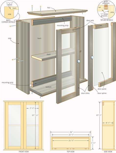 woodworking cabinet plans wood work media storage cabinet plans pdf plans