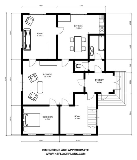 floor plans with dimensions