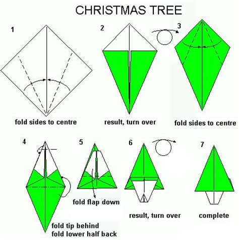 how to fold an origami tree origami