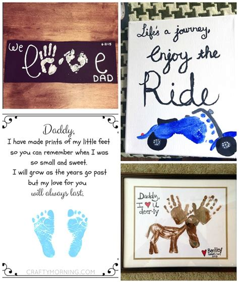 gift poem ideas s day footprint gift ideas from the crafty