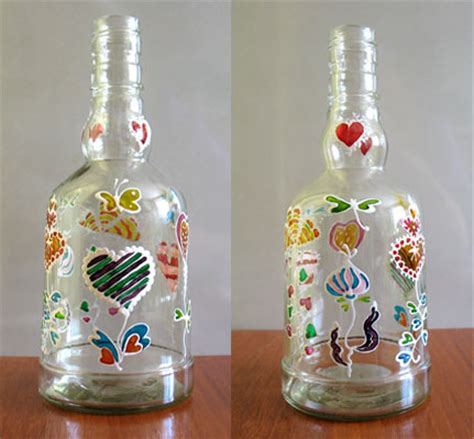 glass bottle crafts for fall craft ideas water bottle jars candleglass bottles