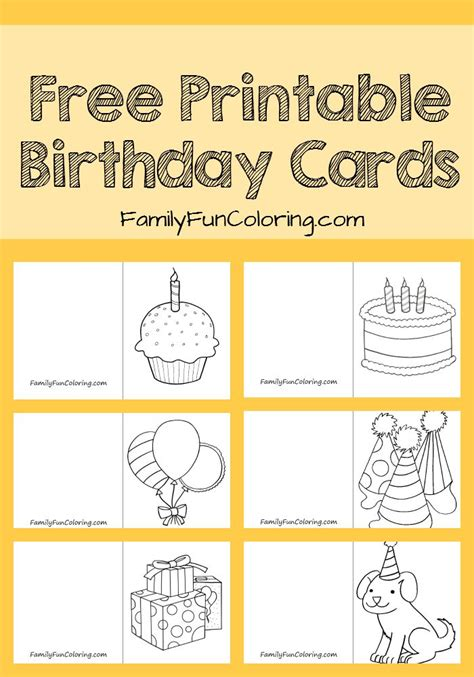 make free printable cards 25 best ideas about printable birthday cards on