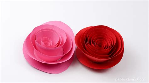 roses paper craft easy papercraft paper kawaii