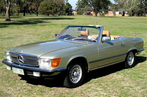 Mercedes 380sl Convertible by Sold Mercedes 380sl Convertible Auctions Lot 14