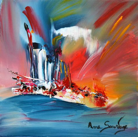 peinture abstraite coloree cr 233 ation de tableau peintures abstraites peinture et