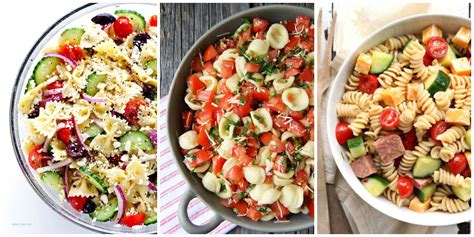 cold pasta dish 30 easy pasta salad recipes best cold pasta dishes