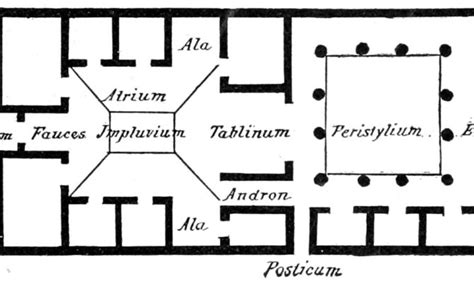pompeian house plan the 15 best plan of a pompeian house home plans