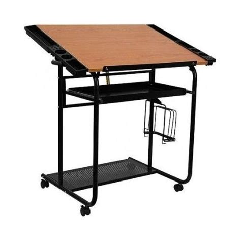 drafting table with edge portable drafting table top adjustable angle portable