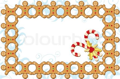 Christmas Home Design Inspiration weihnachten rahmen mit s 252 223 igkeiten pl 228 tzchen element