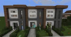 minecraft home design minecraft modern house designs 6 modern house row