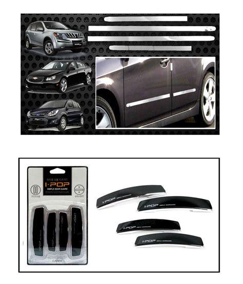 car door beading i pop chrome car side beading black i pop door guards