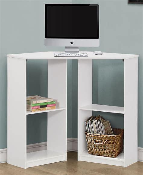 36 corner desk white corner 36 quot juvenile computer desk 7128 monarch