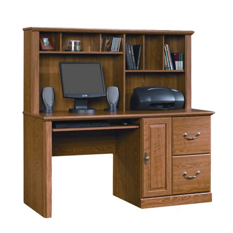 sauder harbor view computer desk with hutch sauder desk with hutch sauder harbor view computer desk