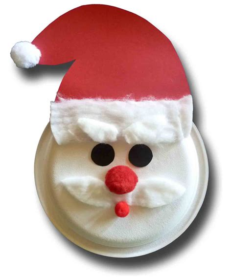 santa paper plate craft paper crafts for children 187 paper plate santa