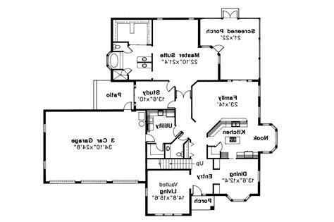 mediterranean home floor plans mediterranean house plans amherst 11 030 associated designs